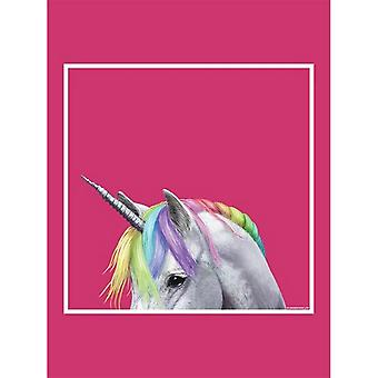Inquisitive Creatures Rainbow Unicorn Tote Bag