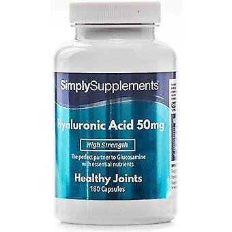 Hyaluronic acid - 50mg - 60 kapselia