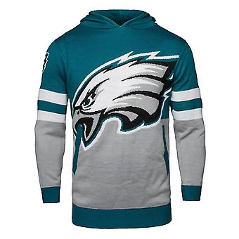 NFL Ugly Sweater Big Logo Hoody - Philadelphia Eagles