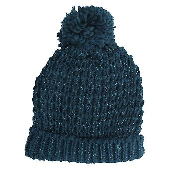 Ladies Knitted Bobble Beanie Hat GL493