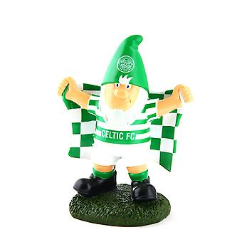 Celtic FC Official Champ Football Crest Garden Gnome