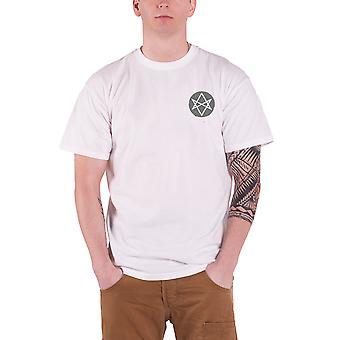 Bring Me The Horizon Distorted logo throne Official Mens New White T Shirt