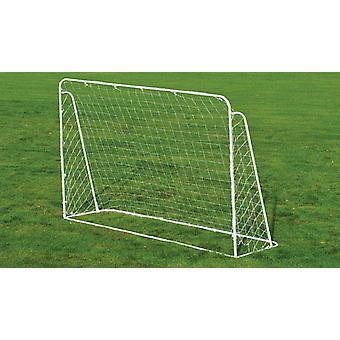 Charles Bentley 7ft x 5ft Kids Metal Football Goal Posts Net