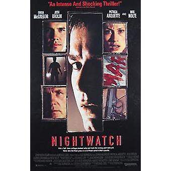 Nachtuhr (Video) Original Video/Dvd Ad Poster