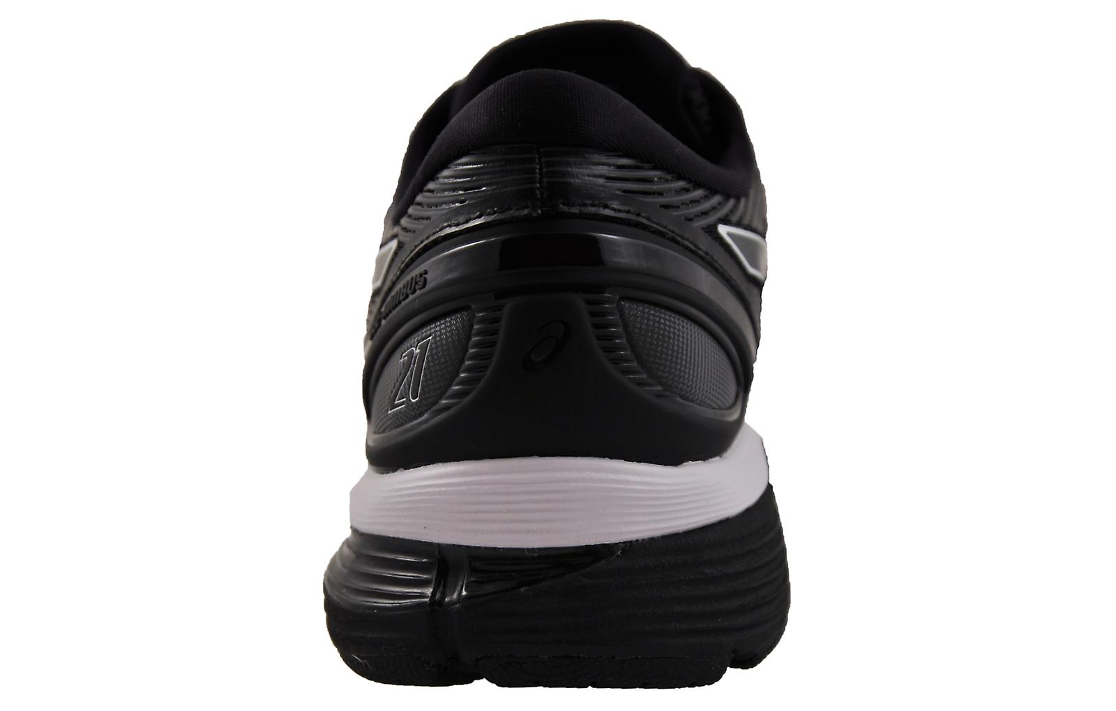 Asics Gel-Nimbus 21 2E Wide Fit Black / Dark Grey