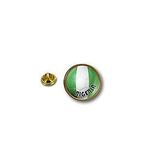 باين الصنوبر دبوس شارة دبوس أبوس؛ عاً المعدنية راكب الدراجة النارية بالون القدم نيجيريا