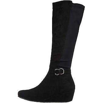 Kenneth Cole Réaction Femme astuce robe botte Fabric Almond Toe Knee High Fashi ...