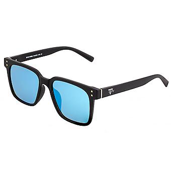 Sixty One Capri Polarized Sunglasses - Black/Blue