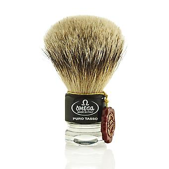 Omega 615 1st Grade Super Badger Hair Shaving Brush