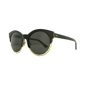 Dior Sideral 1 J63/Y1 Black-Rose Gold/Grey Sunglasses