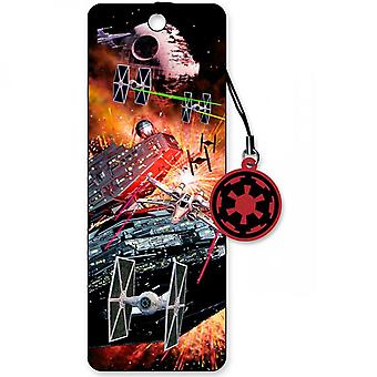 Star Wars 3D Moving Image Star Fighters Bookmark