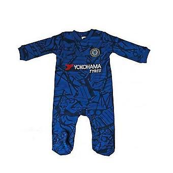Chelsea FC Baby Unisex Sleepsuit