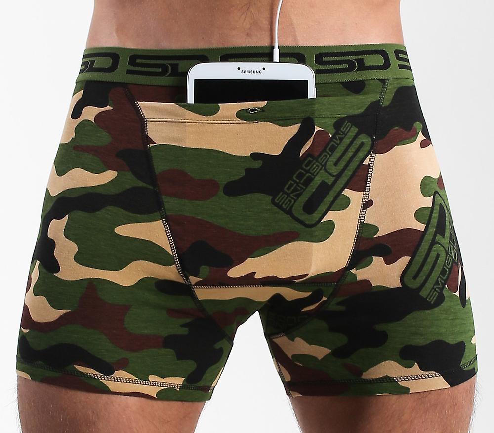 Smuggling Duds Stash Boxers - Jungle Camo