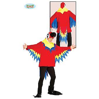 Parrot costume variopinto pappagallo costume animale Zoo per adulti Carnevale unisex
