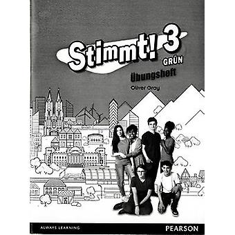 Stimmt 3 Grun Workbook pack of 8 by Oliver Gray
