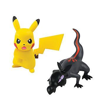 Pokemon Pikachu Z liikkua VS Salandit toiminta taistelu kuva asettaa