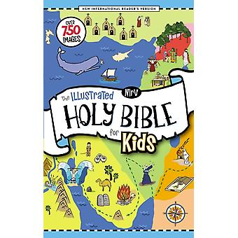 NIrV The Illustrated Holy Bible for Kids Hardcover Full C