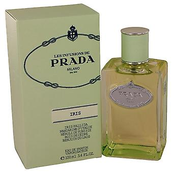 Prada infuze d&iris eau de parfum spray by prada 458682 100 ml