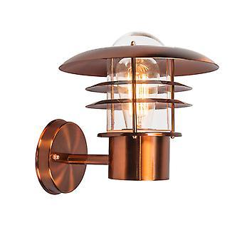 QAZQA Vintage outdoor wall lamp copper IP44 - Prato