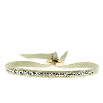 Bracciale intercambiabile A36783 - cristalli di tessuto Beige donna Swarovski bracciale