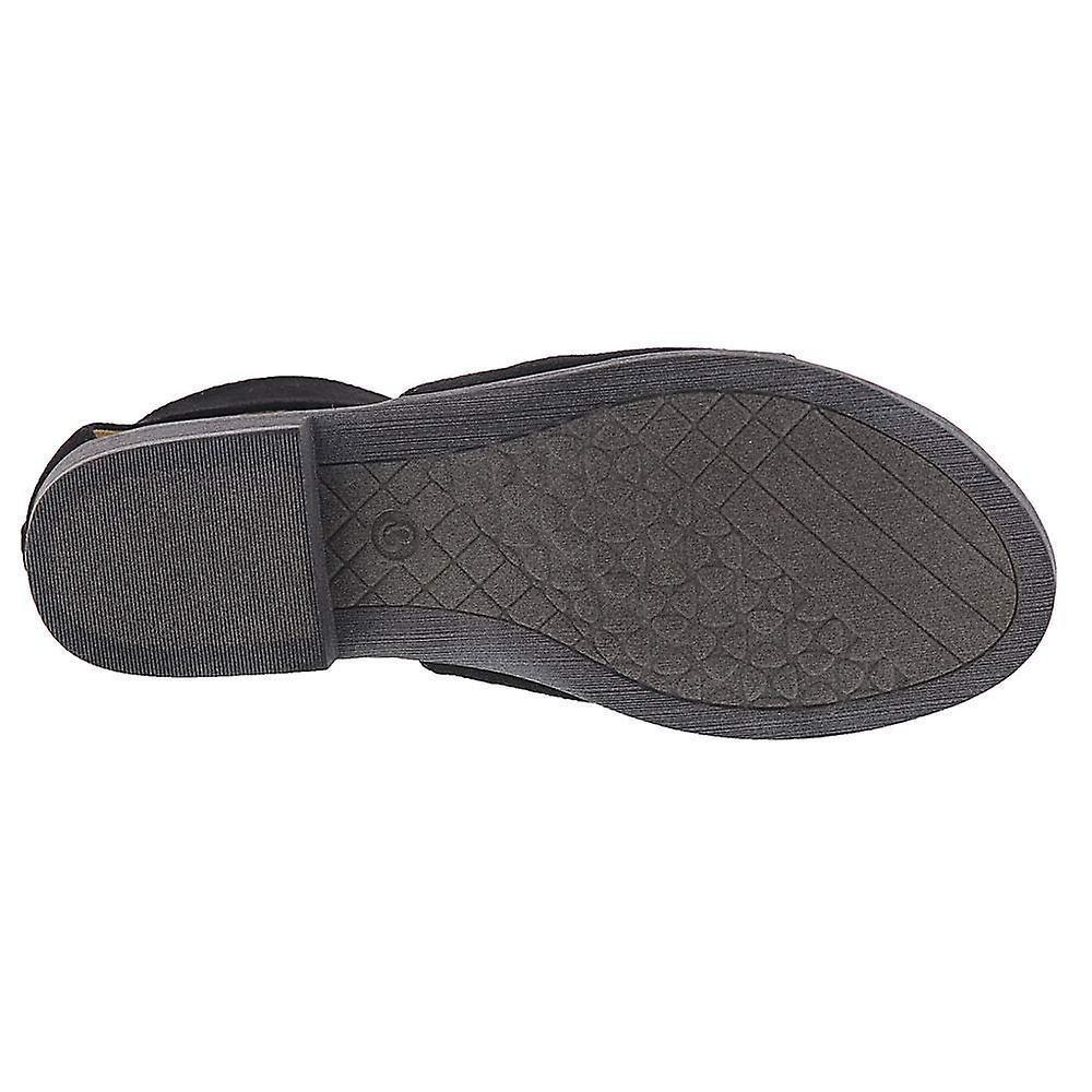Bare Traps Womens Sarena Fabric Open Toe Casual Slide Sandals