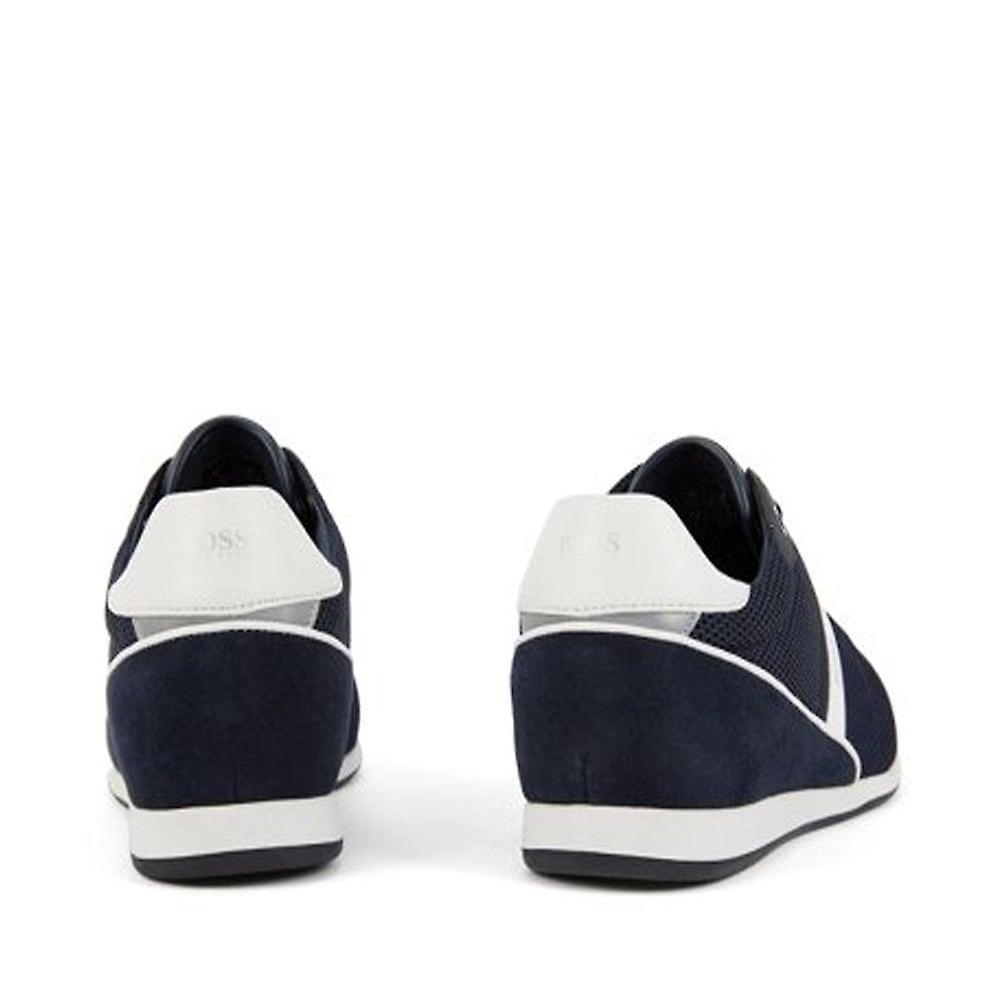 Hugo Boss Footwear Men's Dark Blue Glaze Lowp Trainers