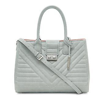 Gwen Vegan Tote Bag - Grey