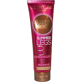 L ' Oreal Sublime Bronze Sommer Beine BB Creme 150ml Fair Medium
