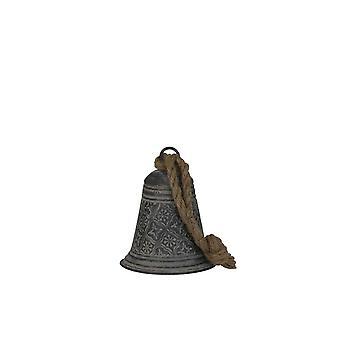 Light & Living Decorative Pendant 13x15.5cm Bell Zinc Motif