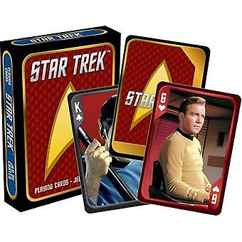 Star trek - cast playing cards