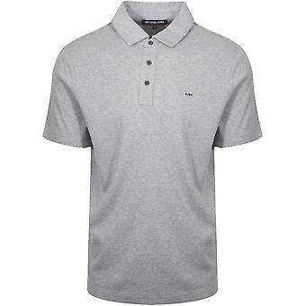 Michael Kors  Michael Kors Classic Grey Marl Polo Shirt