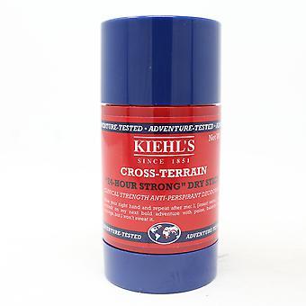 Kiehl's Cross-Terrain 24 Hour Strong Dry Skin Deodorant  2.6oz/75g New