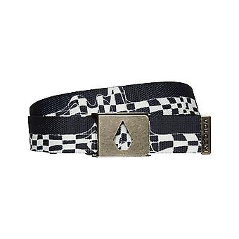 Volcom Stone Cut Webbing Belt in New Black