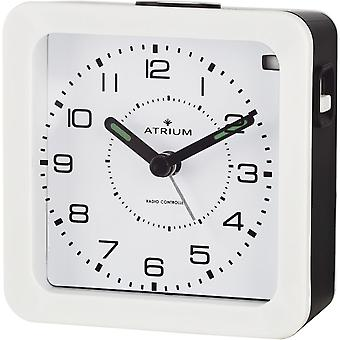 ATRIUM Alarm Clock Analog Quartz Alarm Clock A650-0 Light Snooze white