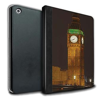 STUFF4 PU Leather Book/Cover Case for Apple iPad Air 3 2019/3rd Gen/Big Ben/London England