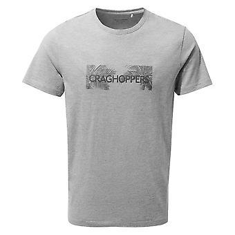Craghoppers Soft Grey Mens Nelson Kurzarm-T-Shirt