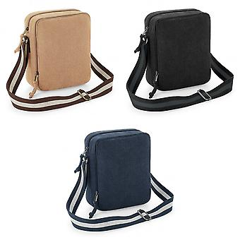 Quadra Vintage Canvas Mini Bolsa de Reportero