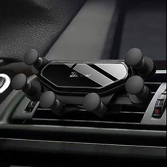 Bakeey الجيل 3 الربط الجاذبية الزجاج التلقائي قفل تنفيس الهواء حامل الهاتف ل4.0-6.5 بوصة الهاتف الذكي