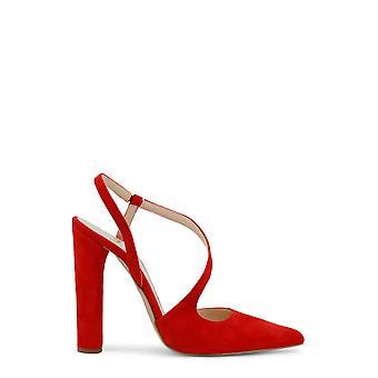 Lavet i Italia Original Kvinder Forår / Sommer Sandaler - Rød Farve 31368