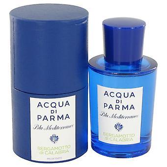 Blu Mediterraneo Bergamotto Di Calabria Eau De Toilette Spray por Acqua Di Parma 2.5 oz Eau De Toilette Spray