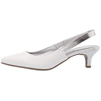 Anne Klein mujeres aileen cuero puntiagudo slingback Classic bombas