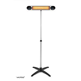 Veito verstelbare telescoop-voet voor Infarood Heater