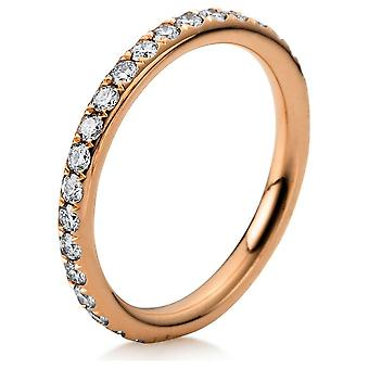 Diamond Ring Ring - 18K 750/- Red Gold - 0.75 ct. - 1B826R853 - Ring width: 53