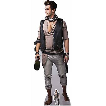 Pirate with Bottle of Rum Cardboard Cutout / Standee / Standup / Standee