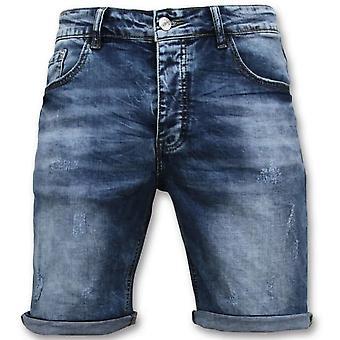 Shorts - Kort - 9088 - Blå