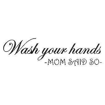 Wandinrichting | toilet | Was je handen