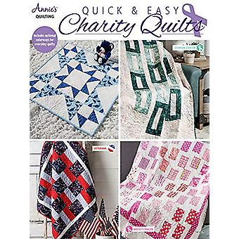 Quick & Easy Charity Quilts by Annie's Quilting - 9781590129326 B