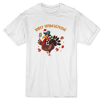 سعيد عيد الشكر اقتباس لطيف تركيا خريف يترك الرجال في تي شيرت
