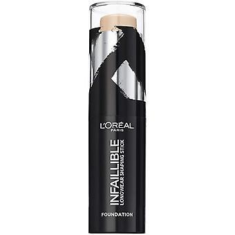 2 x L&Oreal Infaillible Longwear Shaping Stick Foundation 9g - 160 Piasek