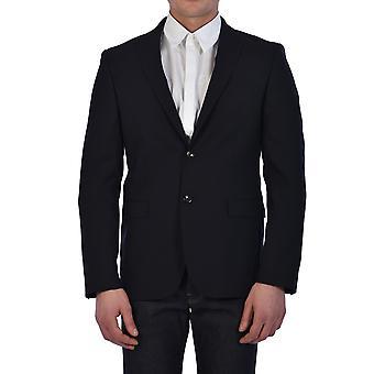 Tonello 01g231y3074u600 Men's Blue Wool Blazer